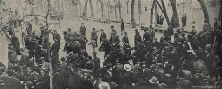 Thumb polici a arrestando 1912 memoria chilena