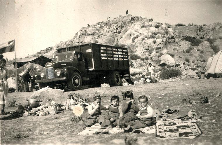 Thumb familia en la pampilla 1953