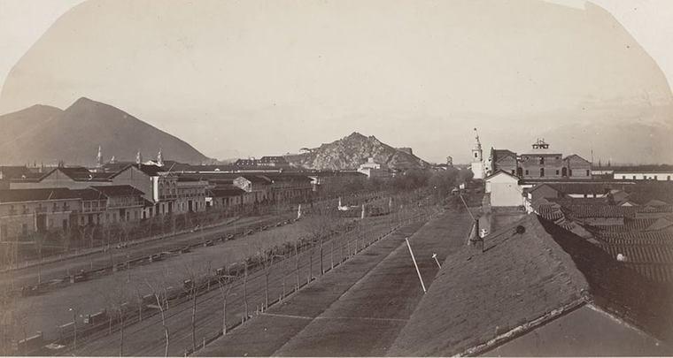 Thumb 01 la alameda en 1867  foto de william oliver