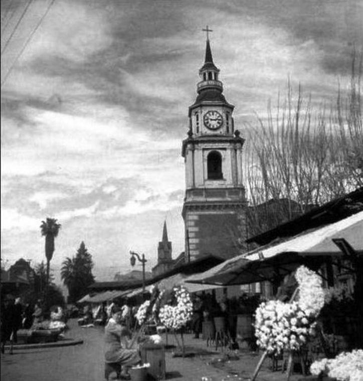 Thumb 221 pergola de las flores e iglesia en 1950 foto de ignacio hochh usler